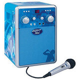 American Idol AI111 Portable CDG Karaoke System CD Player, $100
