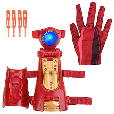 Iron Man 2 3-in-1 Repulsor Blaster Glove Toy, $20