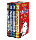 Diary of a Wimpy Kid Box of Books, $33