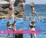 Pictures of Ke$ha Wearing a Bikini in Australia