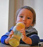 BornFree Twist n Pop BPA Free Straw Cup