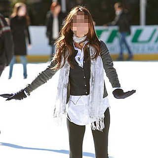 Guess Who Went Ice Skating in Central Park?