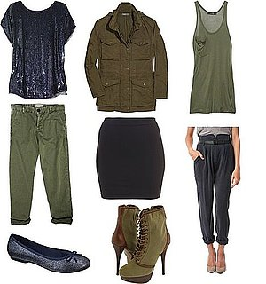 Color Combo to Try: Navy + Olive