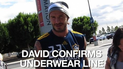 Video of David Beckham Talking About His Underwear Line 2010-11-11 14:43:46