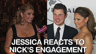 Video of Jessica Simpson Commenting on Nick Lachey and Vanessa Minnillo Getting Engaged 2010-11-11 12:25:56