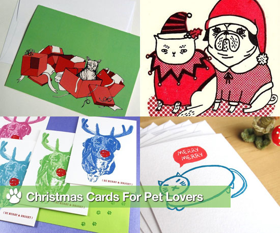 Christmas Cards For Pet Lovers