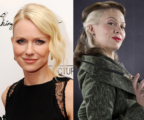 Naomi Watts as Narcissa Malfoy