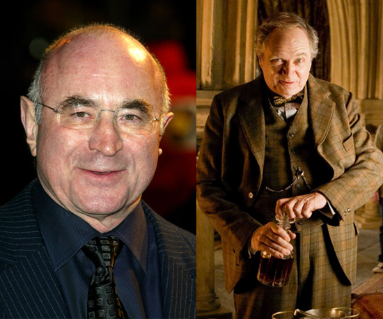 Bob Hoskins as Horace Slughorn
