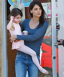 Pictures of Katie Holmes and Suri Cruise After Ballet Class in LA