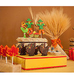 Make Cookie Pop Centerpieces