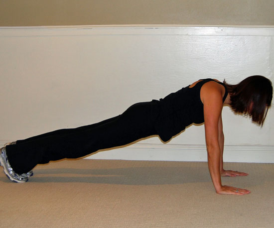 Getting in Position For Plank