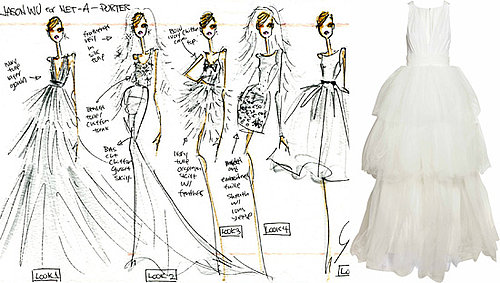 Jason Wu's Wedding Dress Collection for Net a Porter