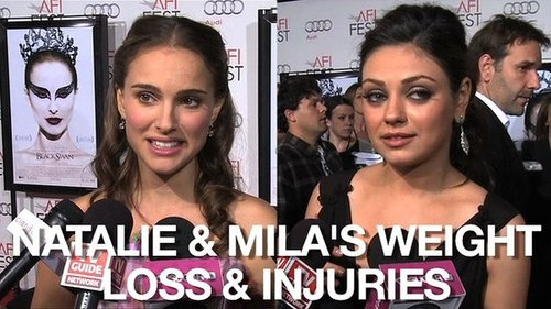 Video of Natalie Portman and Mila Kunis at the LA Premiere of Black Swan 2010-11-12 10:00:37