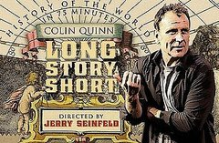 Colin Quinn and Jerry Seinfeld Hit Broadway With Long Story Short
