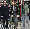 Take That Arrive at BBC Radio 2 Steve Wright Show