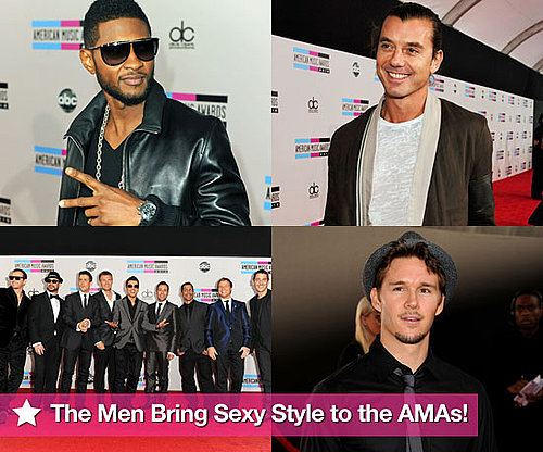 Pictures of Usher, Trey Songz, Diddy, Gavin Rossdale, Ryan Kwanten and More Arriving at AMAs 2010-11-21 23:30:00