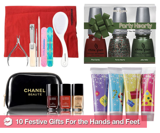 Nail It This Holiday Season With Festive Gifts For the Hands and Feet