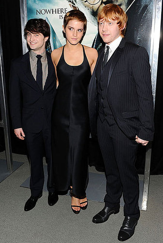 Pictures of Emma Watson, Daniel Radcliffe, Rupert Grint at Harry Potter and the Deathly Hallows NYC Premiere