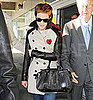 Pictures of Harry Potter's Emma Watson Arriving in New York