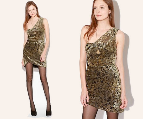 Day Five: Silence & Noise Golden Ring Dress ($79)