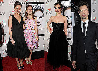 Natalie Portman and Mila Kunis at the Black Swan Premiere in LA