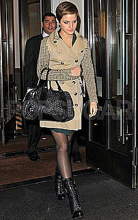 Pictures of Emma Watson in New York