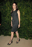 Mary-Louise Parker keeps it simple and sleek.