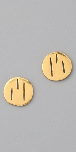 Gorjana Hunter Stud Earrings ($28, originally $40)