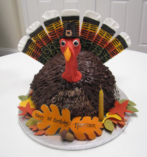 Elaborate Turkey Cake
