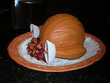 Trussed Up Turkey Cake