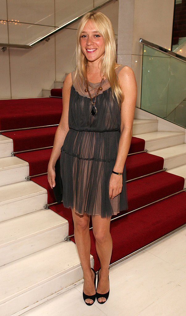 Short and sheer at Cannes in '06.