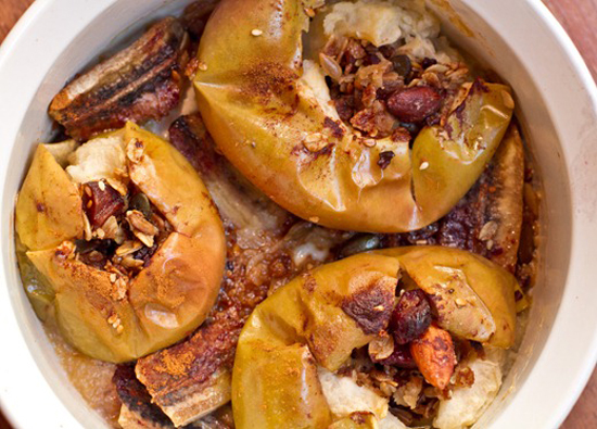 Granola-Stuffed Baked Apples