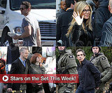 Pictures of Jennifer Aniston, Ben Stiller, Matthew Morrison and More in Stars on Set