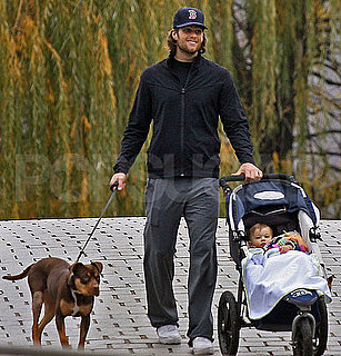 Pictures of Tom Brady's Hair Under a Red Sox Hat and Baby Benjamin Brady