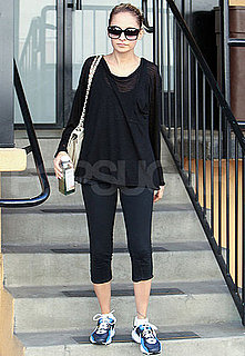 Pictures of Nicole Richie Leaving Gym in LA