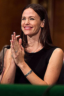 Pictures of Jennifer Garner Speaking Out in the Senate on Behalf of Save the Children