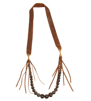 Annie Costello Brown Relic Necklace ($199, originally $345)