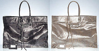 Balenciaga Metallic Holiday Bag
