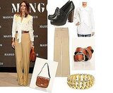 Copy Olivia Palermo's Wide Leg Trouser Look