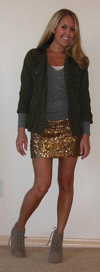 6 ways to wear a sequin dress