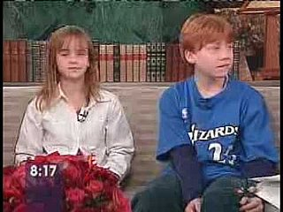 Video of Emma Watson and Rupert Grint Chatting Up Harry Potter in 2001