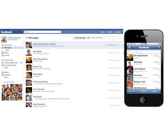 "Facebook Announces Its ""Modern Messaging System"""