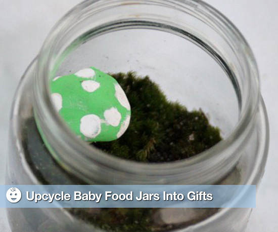Upcycle Baby Food Jars Into Gifts