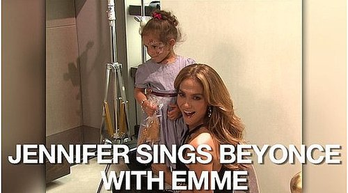 "Video of Jennifer Lopez and Emme Anthony Singing ""Single Ladies"" at a Gucci Event"