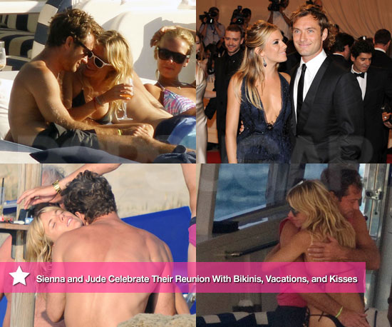 Biggest Headline of 2010: Sienna and Jude Celebrate Their Reunion With Bikinis, Vacations, and Kisses