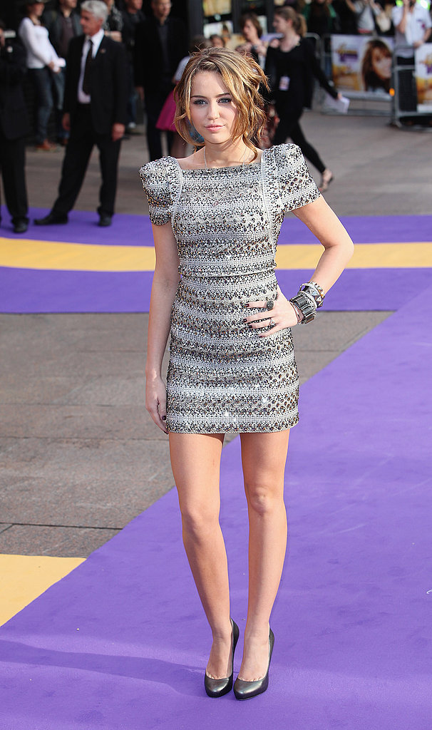 April 2009: Hannah Montana Premiere in the UK