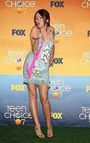 August 2007: Teen Choice Awards