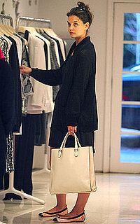 Pictures of Katie Holmes Shopping at Stella McCartney