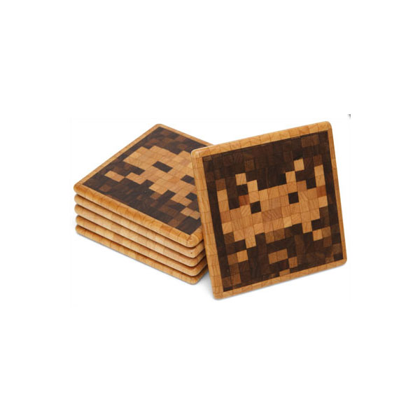 Space Invaders Coaster Set ($60)