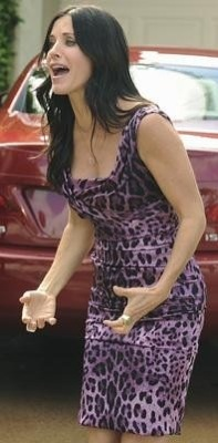 Courteney Cox's Style on Cougar Town